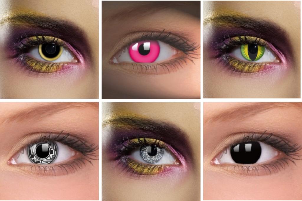 Линзы цветные для глаз для красоты